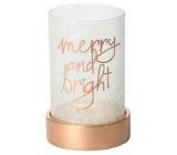 Yankee Candle Magical Christmas Svícen na sklo
