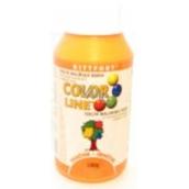 Kittfort Color Line tekutá maliarska farba Oranžová 100 g