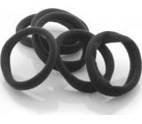 Vlasová gumička čierna 4ks - Zemánek 26, - Sk +