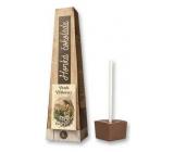 Bohemia Gifts & Cosmetics Horká extra jemná výběrová čokoláda Veselé velikonoce anděl s beránkem 30 g