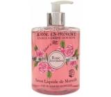 Jeanne en Provence Rose Envoutante - Podmanivá růže tekuté mýdlo na ruce 500 ml
