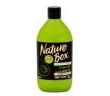 Nature Box Avokádo Regeneračný kondicionér oplachovací pre lesk sa 100% za studena lisovaným olejom, vhodné pre vegánov 385 ml