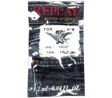 Replay Jeans Original for Her toaletná voda pre mužov 1,2 ml, vialka