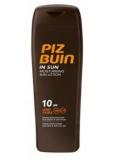Piz Buin In Sun SPF 10 hydratačné vodeodolné mlieko na opaľovanie 200 ml