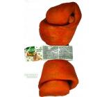 Salač Uzol byvolie Žuvacie uzol z byvolej kože prírodné doplnkové krmivo 20 - 22,5 cm zaúdený