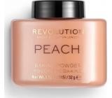 Makeup Revolution Loose Baking Powder sypký púder Peach 32 g