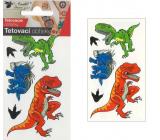 Tetovacie obtlačky farebné pre deti Dinosaury 10,5 x 6 cm