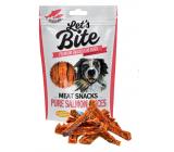 Brit Lets Bite Lososové prúžky doplnkové krmivo pre psov 80 g