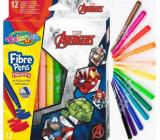 Colorino Fixky Marvel Avengers 12 farieb