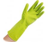 Vulkan Niké Soft & Sensitive upratovacie gumové rukavice S 1 pár