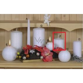 Lima Alfa sviečka biela valec 80 x 100 mm 1 kus