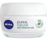 Nivea Pure & Natural Zvláčňující denní krém 50 ml