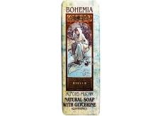 Bohemia Gifts & Cosmetics Alfons Mucha Aquaminerál s glycerinem toaletní mýdlo 125 g