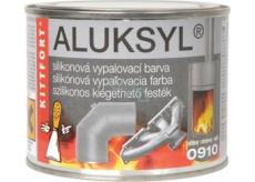 Aluksyl Silikónová vypaľovacia farba Strieborná 0910 80 g