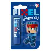 Regina Pixel Jelení loj pomáda na pery pre chlapcov s príchuťou Bubble Gum 4,5 g