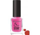 Dermacol 5 Day Stay Dlouhotrvající lak na nehty 37 Big Apple 11 ml