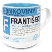 Nekupto Hrnkoviny Hrnek se jménem František 0,4 litru