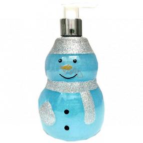 Salsa Collection Shining Star Snehuliak modrý sprchový gél dávkovač 440 ml