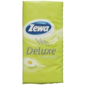 Zewa Deluxe Camomile papírové kapesníky 1 kus
