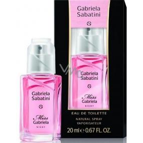 Gabriela Sabatini Miss Gabriela Night toaletná voda pre ženy 20 ml