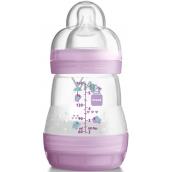 Mam Anti-Colic antikoliková fľaša na kŕmenie, silikónová jemná cumlík rôzne farby 0+ mesiacov 160 ml