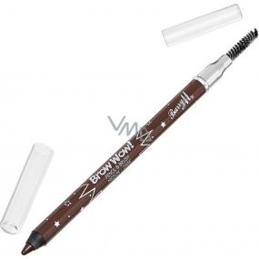 Barry M Brow Wow! tužka na obočí s kartáčkem Medium to Dark 1,2 g