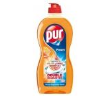 Pur Duo Power Orange & Grapefruit prostředek na mytí nádobí 450 ml