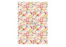 Ditipo Baliaci papier jemné farebné kvety 100 x 70 cm 2 kusy