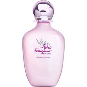 Salvatore Ferragamo Amo Ferragamo Flowerful sprchový gél pre ženy 200 ml