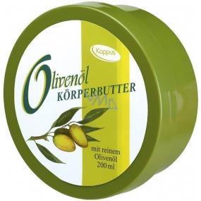 Kappus Oliva prírodná telový krém pre normálnu až veľmi suchú pokožku 200 ml