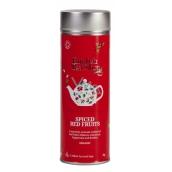 English Tea Shop Bio Korenisté červené ovocie 15 kusov biologicky odbúrateľných pyramidek čaju v recyklovateľné plechovej dóze 30 g, darčeková sada