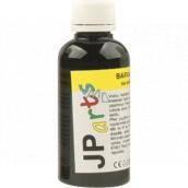 JP arts Farba na textil na svetlé materiály, základné odtiene 12. Čierna 50 g