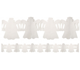 Girlanda Anjel biela 400 x 25 cm
