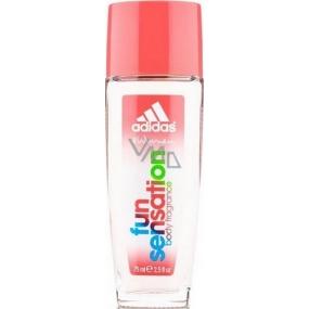 Adidas Fun Sensation parfumovaný dezodorant sklo pre ženy 75 ml
