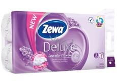 Zewa Deluxe Aqua Tube Lavender Dreams parfumovaný 3 vrstvový 150 útržkov 8 kusov, rolička, ktorú môžete spláchnuť