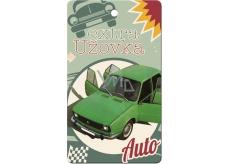 Bohemia Gifts Aromatická vonná karta Extra užovka 11 x 6,3 cm