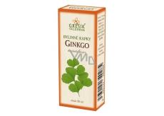 Grešík Ginkgo bylinné kvapky na periférny obehový systém 50 ml