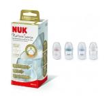 Nuk Nature Sense Fľaša plastová dojčiace latexový cumlík 0 - 6 mesiacov, veľkosť cumlíky S 260 ml