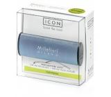 Millefiori Icon Oxygen - Kyslík Vůně do auta Metallo modrá matná voní až 2 měsíce 47 g