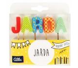Albi Tortové sviečky meno - Jarda, 2,5 cm