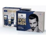 Regina for Men pleťový krém 24h 50 ml + sprchový gél 200 ml + Original jelení loj 13 g, kozmetická kazeta