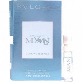 Bvlgari Man Glacial Essence toaletná voda pre mužov 1,5 ml s rozprašovačom, vialka