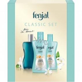 Fenjal Classic sprchový krém 200 ml + telové mlieko 200 ml + olejová pena do kúpeľa 125 ml, kozmetická sada