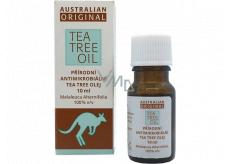 Australian Tea Tree Oil Original 100% čistý prírodný olej čistí pokožku od baktérií 10 ml
