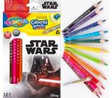 Colorino Pastelky trojhranné Star Wars 13 farieb