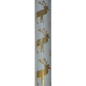 Zowie Darčekový baliaci papier 70 x 150 cm Vianočný s jeleňom