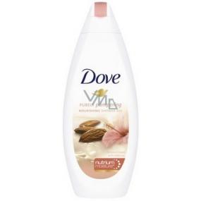 Dove Purely Pampering Mandlový krém a ibišek sprchový gel 250 ml