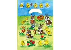 Anjel Igelitová taška 32 x 20 x 4 cm Zajačikovia na lúke