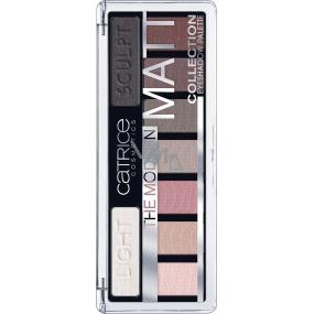 Catrice The Modern Matt Eyeshadow Palette paleta očných tieňov 010 The Must-Have Matts 10 g