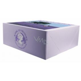 Jeanne en Provence Dárkový papírový box francouzské značky 20 x 20 x 8 cm